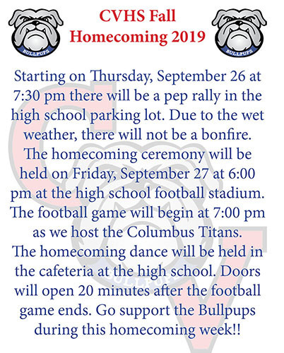 CVHS Homecoming