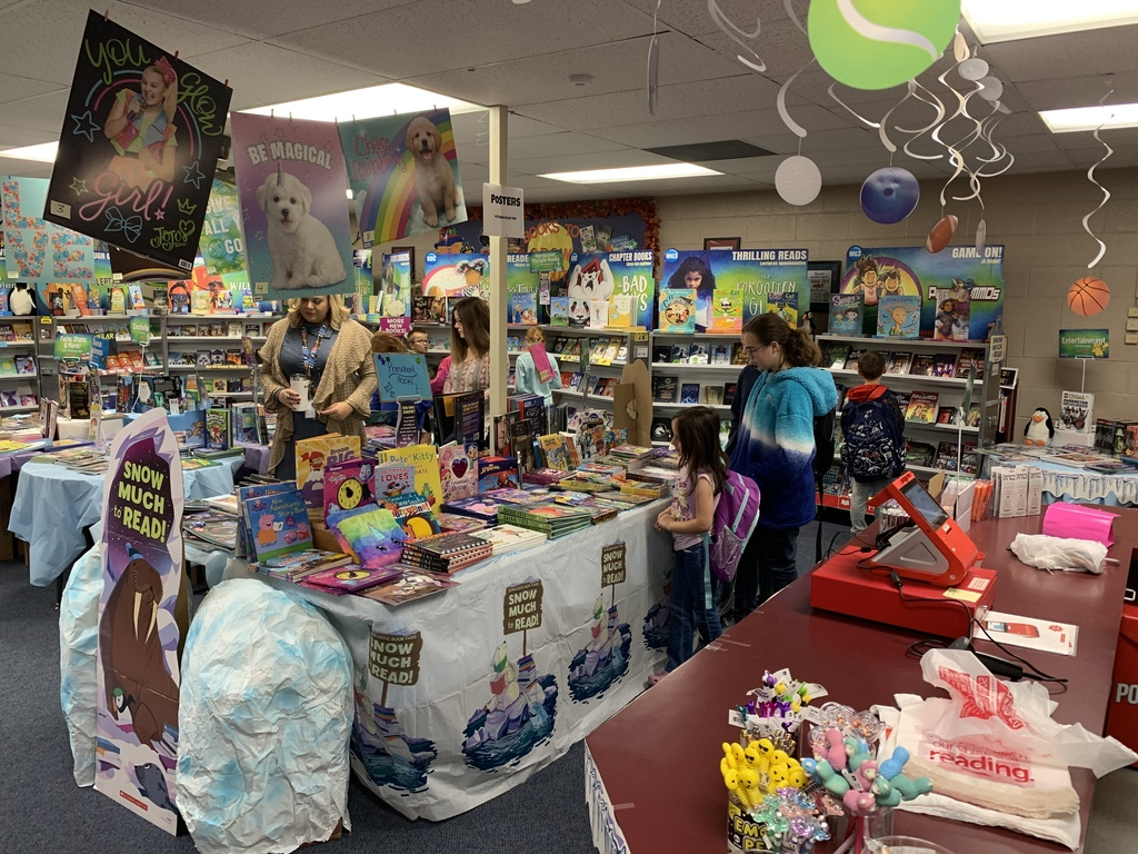 Busy Book Fair!