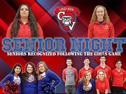Senior/Parent night!